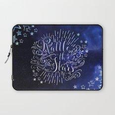 Rattle The Stars - Blue Laptop Sleeve