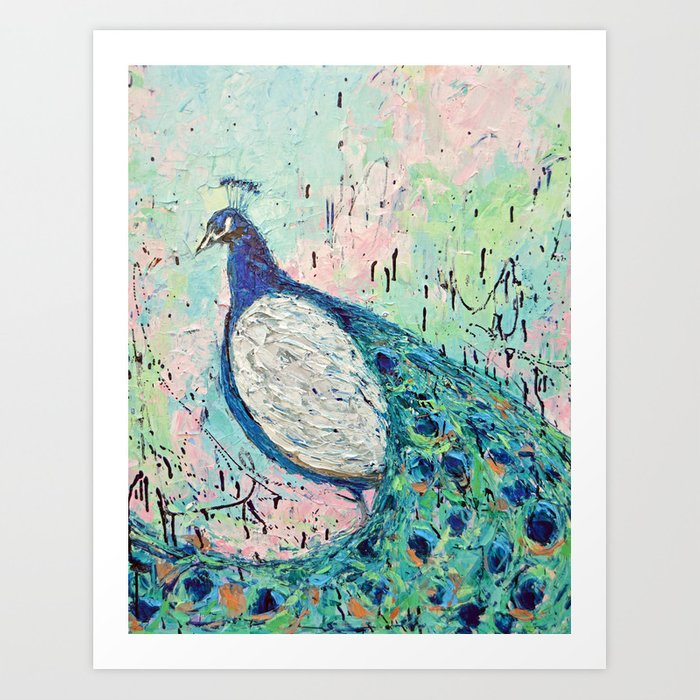 Mr. Toodles the Peacock Art Print