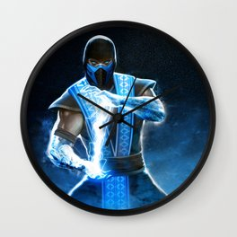 Sub-Zero Mortal K Wall Clock
