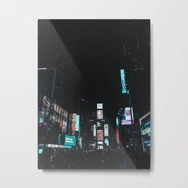 Times Square, NY. 2019 Metal Print