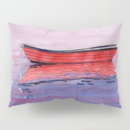 Red Dory Reflections Pillow Sham