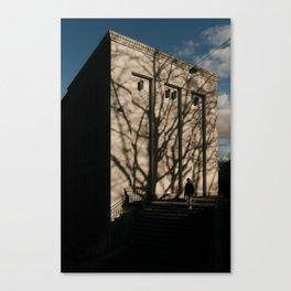 Portrait of a building, Basel Canvas Print
