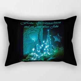 Frohe Weihnachten und ein gutes neues jahr Rectangular Pillow