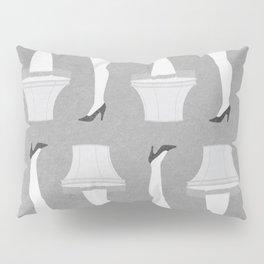 Leg Lamp Grey Pillow Sham