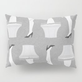 Leg Lamp Grey Pillow Sham