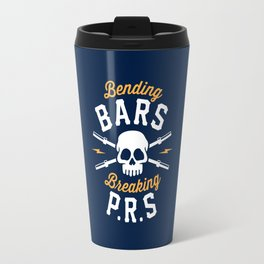 Bending Bars Breaking PRs Travel Mug