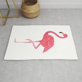 Flamingo fuchsia flap Rug
