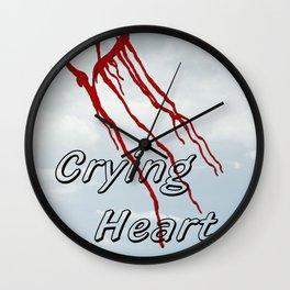 Crying Heart Wall Clock