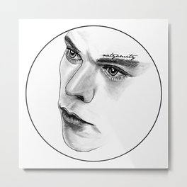 Captivating Eyes Metal Print
