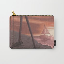 Beach glass Carry-All Pouch