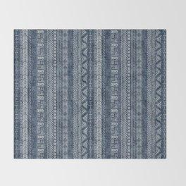 Mud Cloth Stripe Throw Blanket