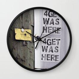 4getful  Wall Clock