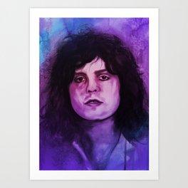 Marc Bolan - T.Rex Music Portrait Art Print