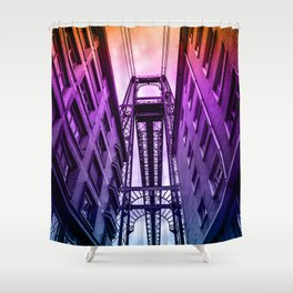 Colorful portugalete Shower Curtain