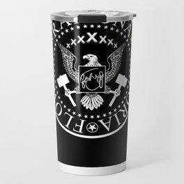 Ramona - Black Travel Mug