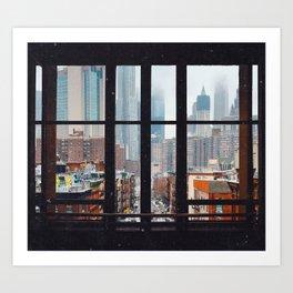 New York City Window Kunstdrucke