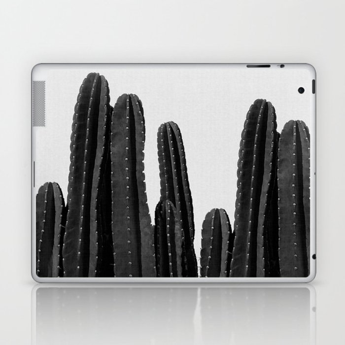 Cactus Black & White Laptop & iPad Skin