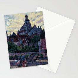La Cathédrale de Gisors, Paris by Maximilien Luce Stationery Cards