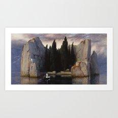 Arnold Böcklin - The Isle of the Dead Art Print