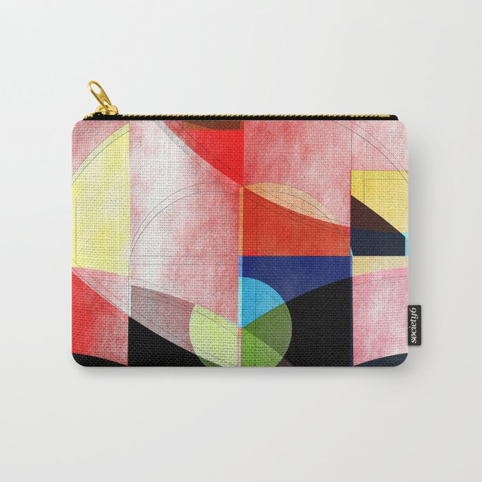 Abstract 2017 005 Carry-All Pouch