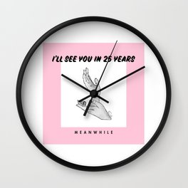 TWIN PEAKS - I'LL SEE YOU IN 25 YEARS LAURA PALMER Wall Clock