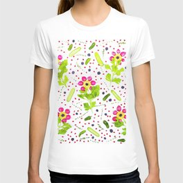 Fruits and vegetables pattern (15) T-shirt