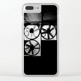 Dark Underground Clear iPhone Case