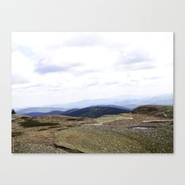 Earth is Curvy Canvas Print