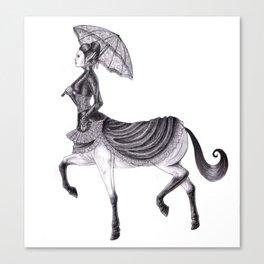 Victorian Centaur Canvas Print