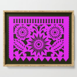 Papel Picdo - Pink + Black Serving Tray