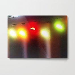 Light bulbs Metal Print