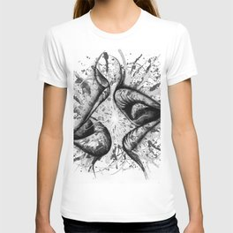 Soul Mates b&w T-shirt