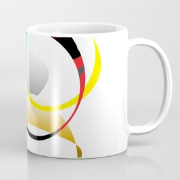 Colorful Joy  abstract geometrical art Coffee Mug