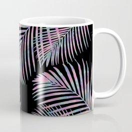 Iridescent Summer Palm Leaves Coffee Mug