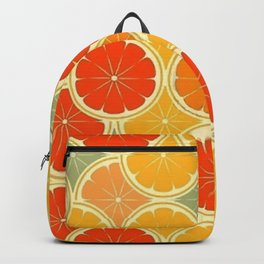 Summer Citrus Slices Backpack