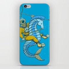 Deep Sea Hunting iPhone & iPod Skin