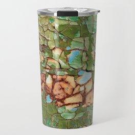 Old cracked paint Travel Mug