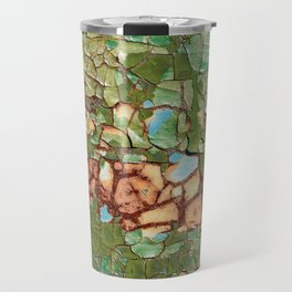 Old cracked paint Travel Mug