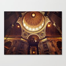 Saint Peter's Basilica  Canvas Print