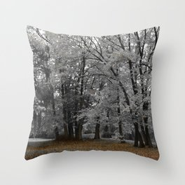 Malmsbury Botanic Gardens No. 3 Throw Pillow
