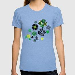 Celtic Love Knot Clovers T-shirt