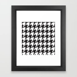 Houndstooth Retro #77 Framed Art Print