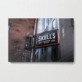 Skull's Rainbow Room Nashville Tennessee Metal Print