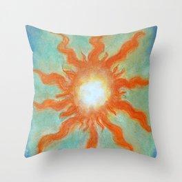 Fire Soul Throw Pillow