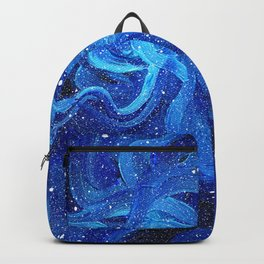 Galaxy Painting Acrylic Galaxy Art Backpack