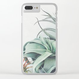 Air Plant Collection Clear iPhone Case
