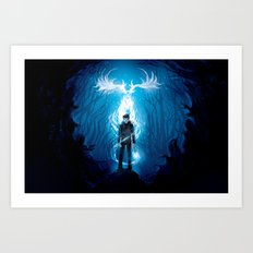 Prongs will Ride Art Print