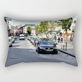 Taxi Stand, Eyre Square, Galway Rectangular Pillow