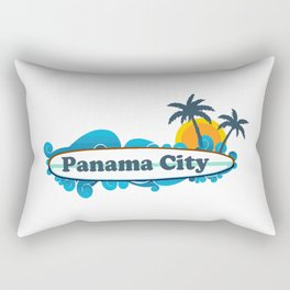 Panama City - Florida. Rectangular Pillow