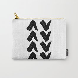 Drawn Arrows Carry-All Pouch